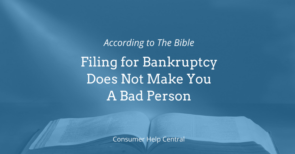 bankruptcy morality bible