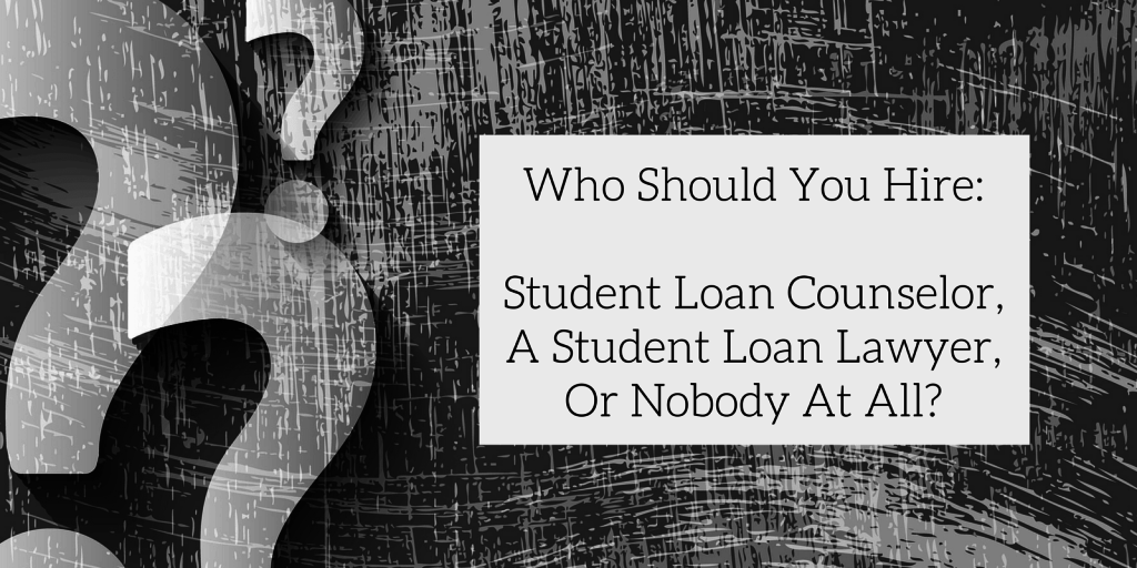 hire student loan lawyer